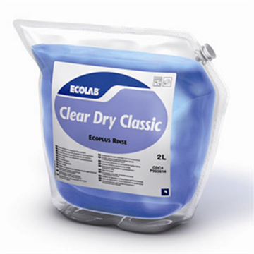 Ecolab Clear Dry Classic 2 x 2 liter naglansproduct - www.ecolabproducten.nl