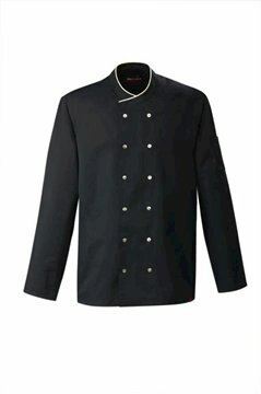 Chianti heren servicejas black and sand piping maat S (48)