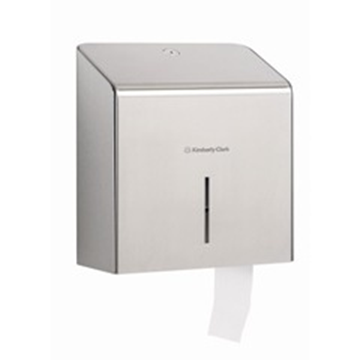KC PROF* RVS Toilettissue Dispenser - Mini Jumbo (8974) met staffelkorting