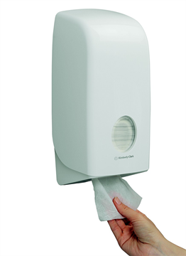 AQUARIUS* Toilettissue Dispenser - Gevouwen (6946) met staffelkorting