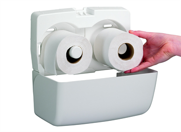 AQUARIUS* Toilettissue Dispenser - Kleine rollen (6992) met staffelkorting