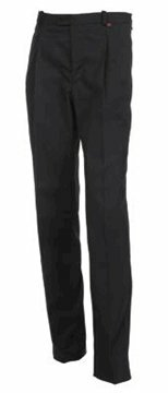 Urbino herenbroek stretch black maat 48