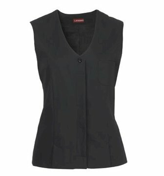 Alba damesgilet stretch black maat 48