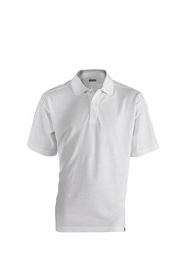 Leandro herenpolo white (regular fit) maat L