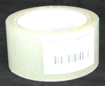 Tape PP transparant 50 mm x 66 mtr / doos à 36 rol