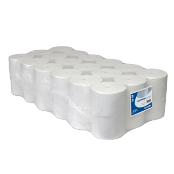 Toiletpapier Euro Coreless 1-laags 1400 vel 36 rol per pak (250201) (met staffelkorting)