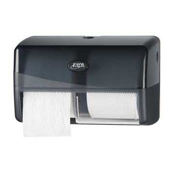 Clean2win Black duo toiletrolhouder compact (431052)