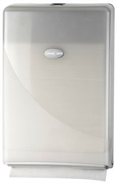 Clean2win White Slimfold dispenser (431103)