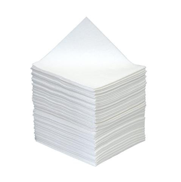 1-laags servetten 1/4, pure cellulose, 33 x 33 wit (T32140) (met staffelkorting!)