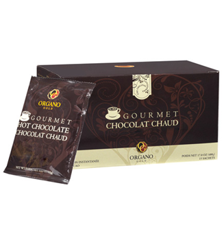 Organo Gold Gourmet Hot Chocolate / pak a 15 zakjes _ franco huis & met staffelkorting tot 20% !