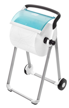 Tork Performance Floor Stand Mobile White/Turquoise