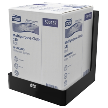 Tork Dispenser Wiper / Cloth Combi Roll in Box Black