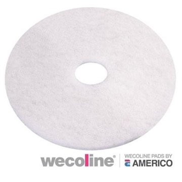 White pad wit 12 inch