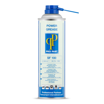 Afbeeldingen van Pro Part Power Grease spray SF 100 / 12 x 500 ml