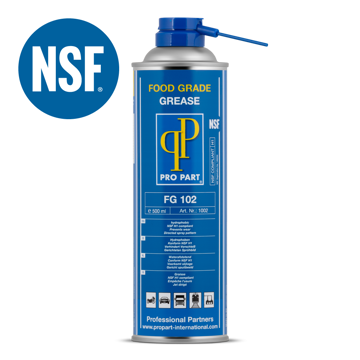 Afbeeldingen van Pro Part Food Grade Grease Spray FG 102 / 12 x 500 ml